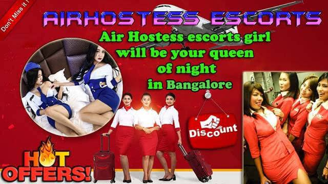 Bangalore air hostess escorts
